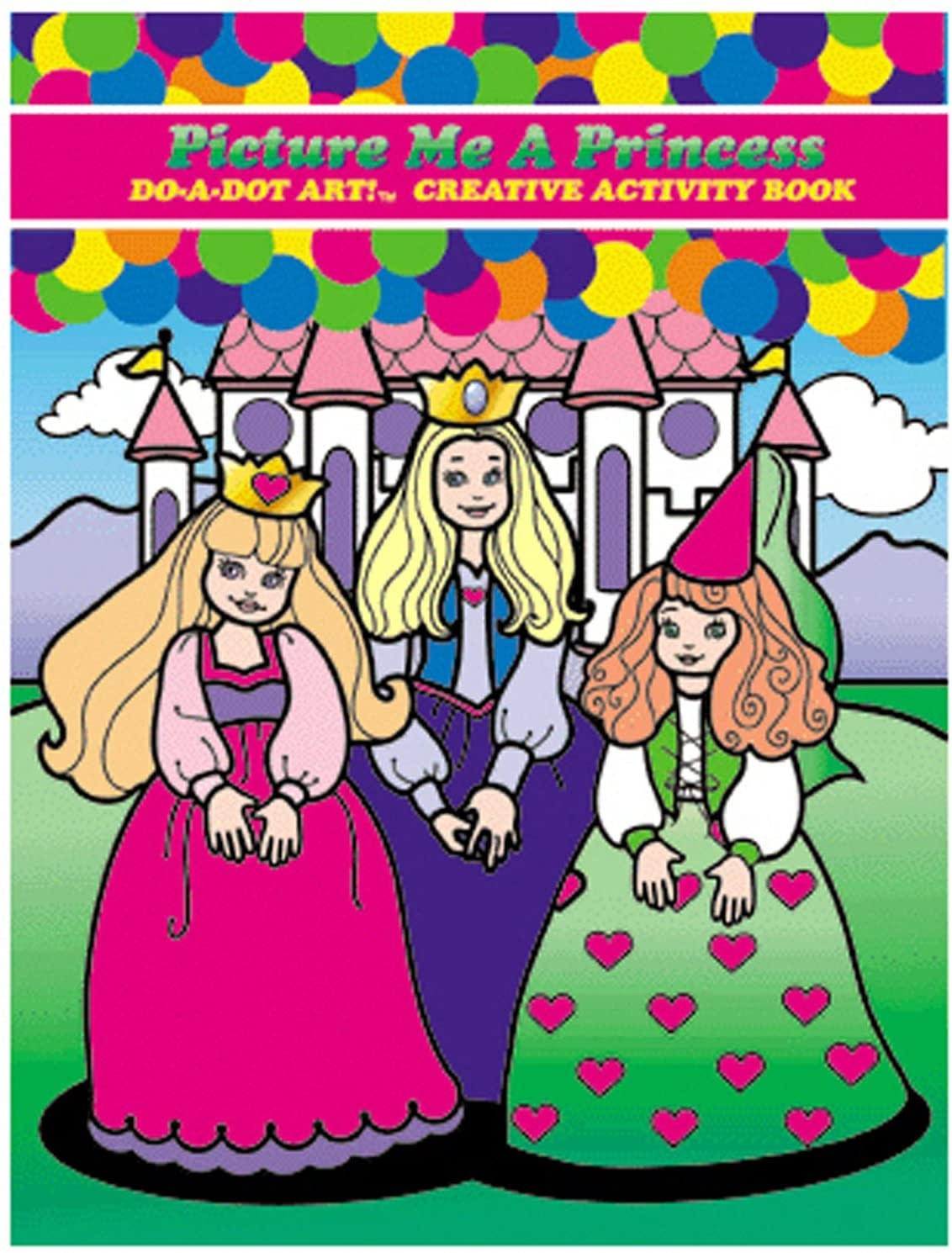 Picture Me A Princess Coloring Book-1