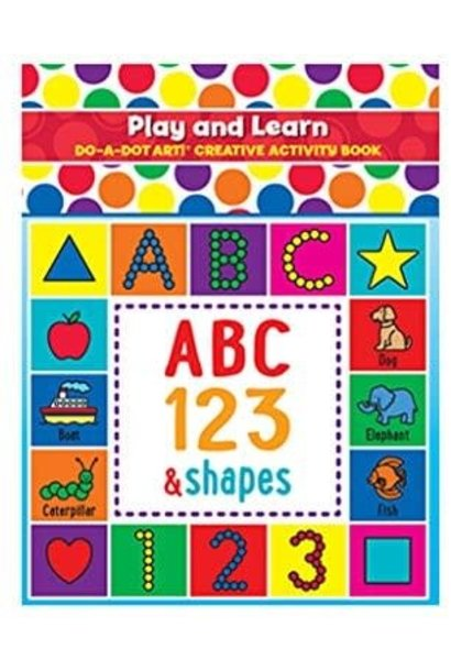Play And Learn ABC Coloring Book