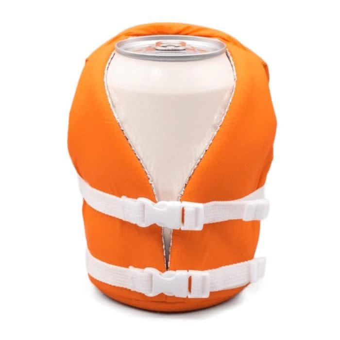 Puffin Beverage Life Vest Vintage Orange-1