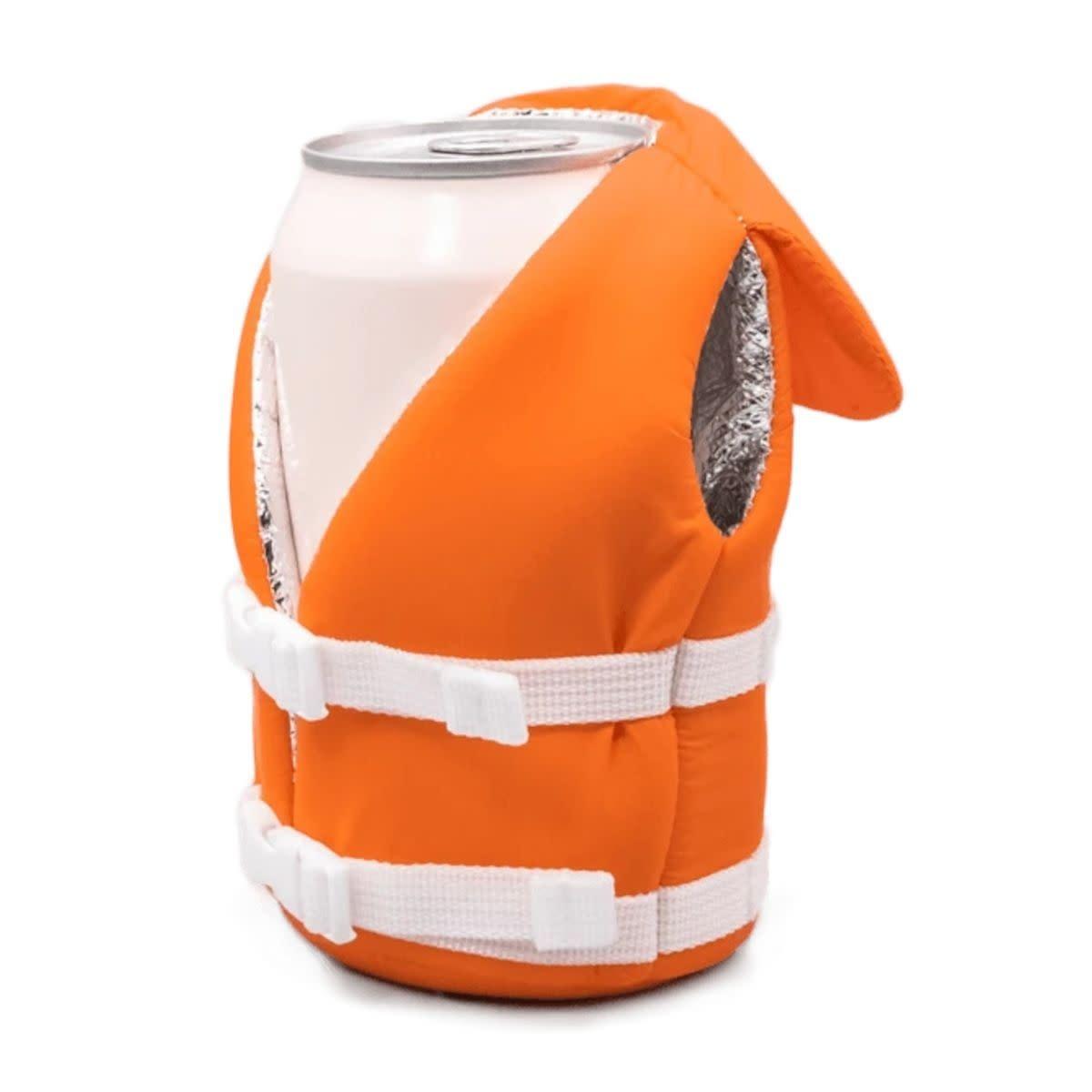 Puffin Beverage Life Vest Vintage Orange-2