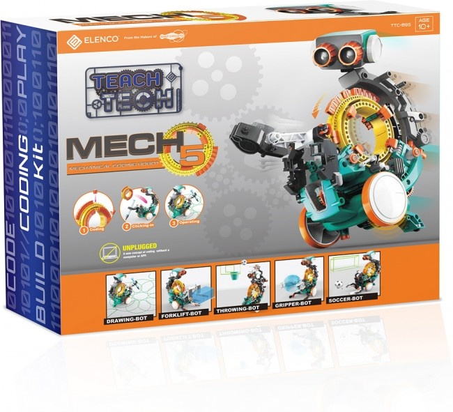 Teach Tech KC3 Keypad Coding Robot-3