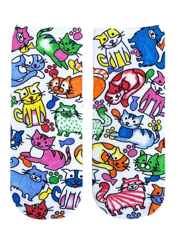 Crayola Color In Socks Kitten Galore-2