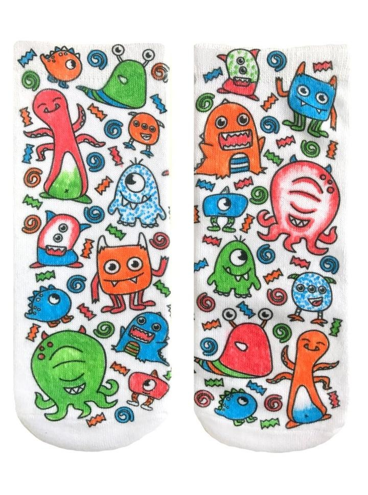 Crayola Color In Socks Monster Party-3
