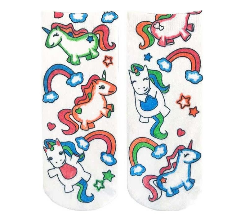 Crayola Color In Socks Unicorn-2