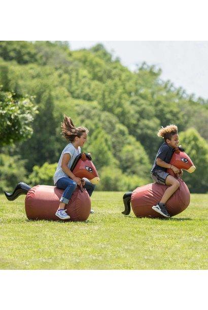 Hop N Go Horses Set of 2