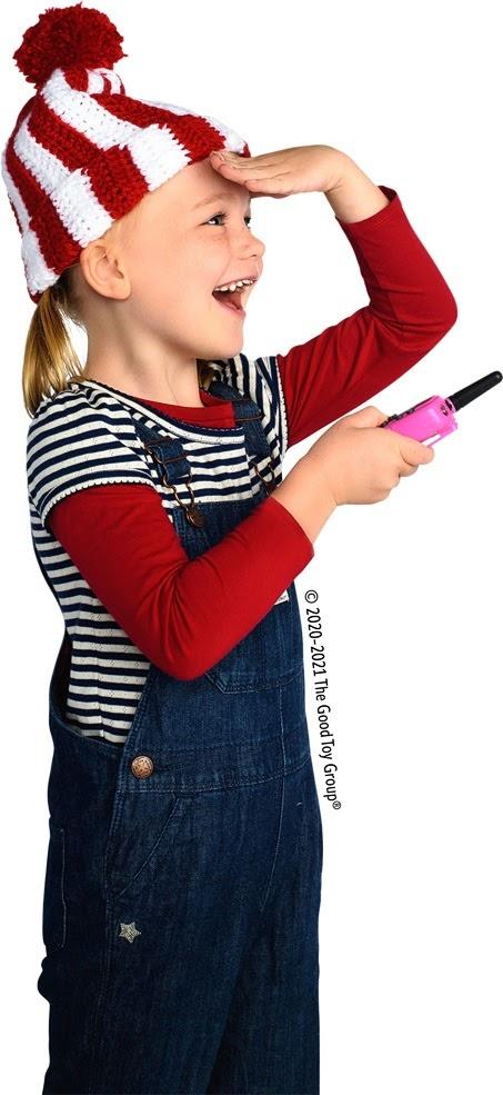 Retevis Kids Walkie Talkies w/Flashlight Pink-2