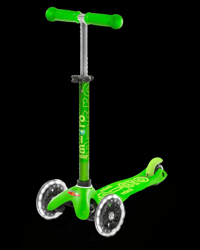 Micro Mini Deluxe LED Green-1