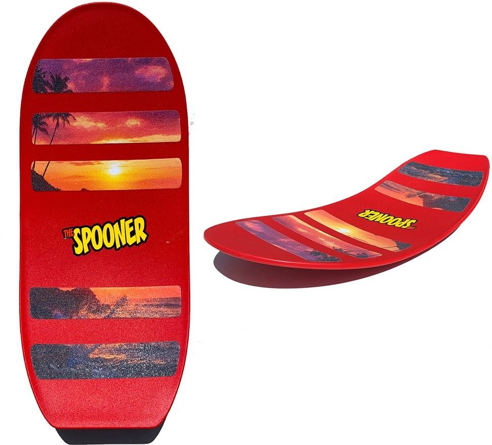 Spooner Pro Board Red-2