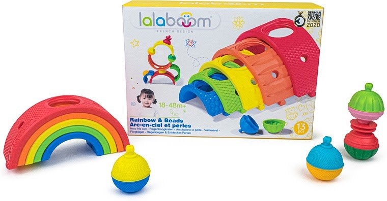 Lalaboom Rainbow & Beads-4