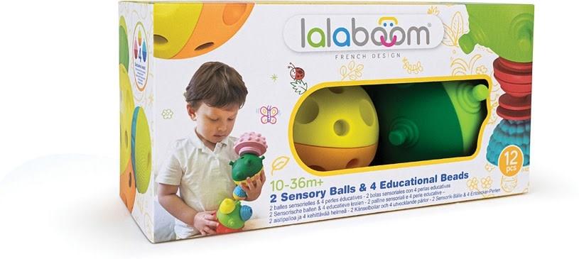 Lalaboom Sensory Balls & Beads 12 pc-1