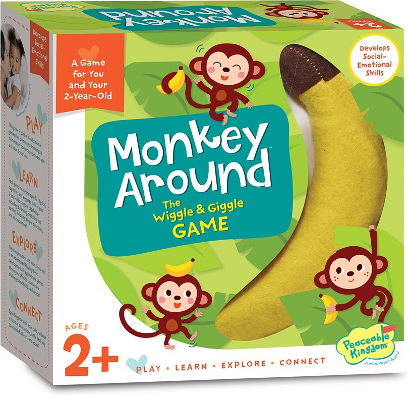 Monkey Around Wiggle & Giggle Game-1