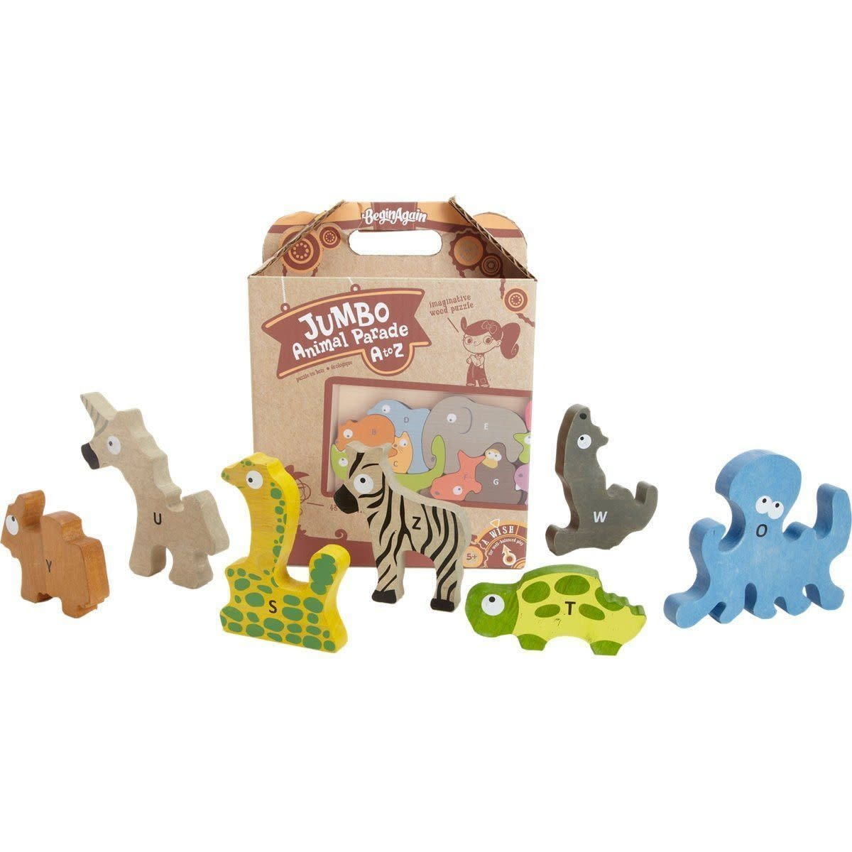 Jumbo Animal Parade A toZ-1