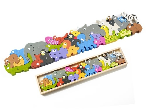Animal Parade A to Z Wooden Puzzle-4