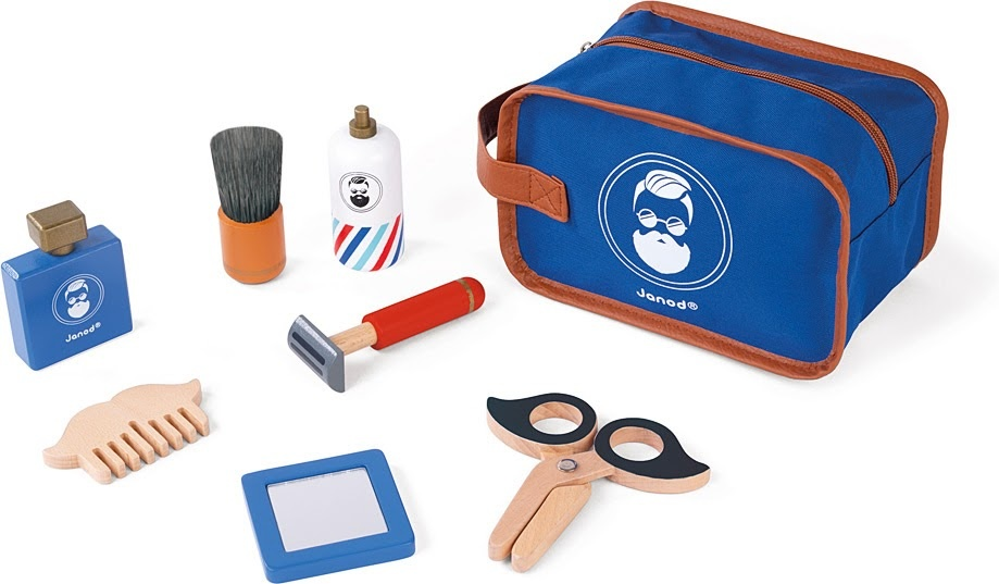 Janod Shaving Kit Wood-4