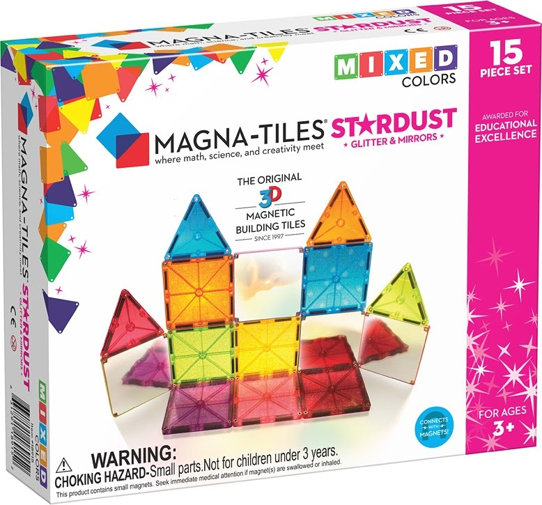 Magna-Tiles Stardust 15 Piece St-1