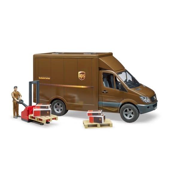 Bruder UPS Sprinter Delivery Van-1