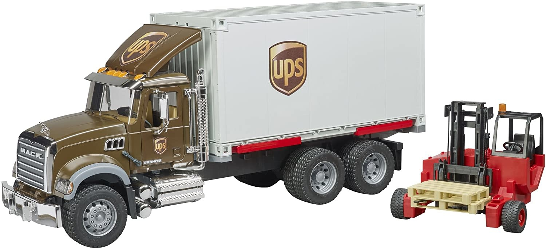 Bruder UPS Mack Logistik Truck-4