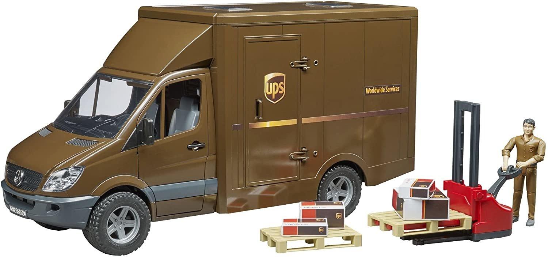 Bruder UPS Sprinter Delivery Van-2