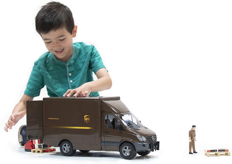 Bruder UPS Sprinter Delivery Van-3