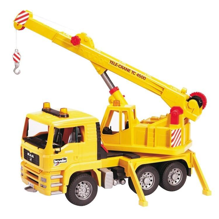 Bruder MAN Crane Truck-1