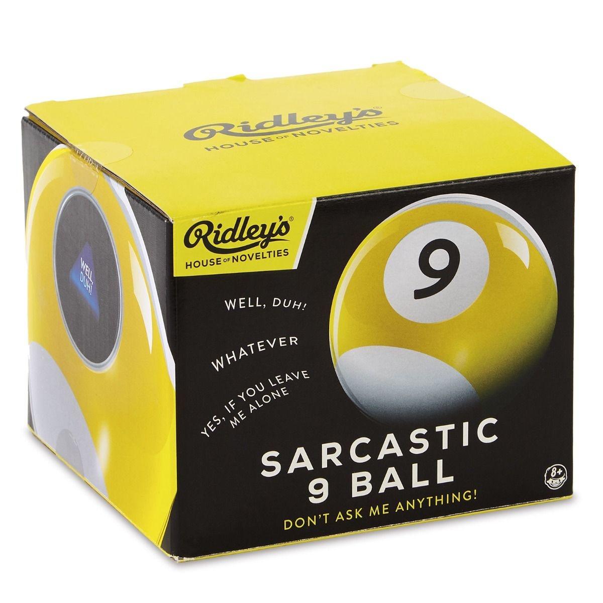 Ridley's Sarcastic 9 Ball-1