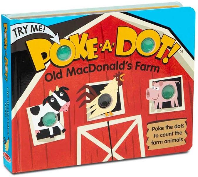 Poke-A-Dot Old MacDonald Board Book-1