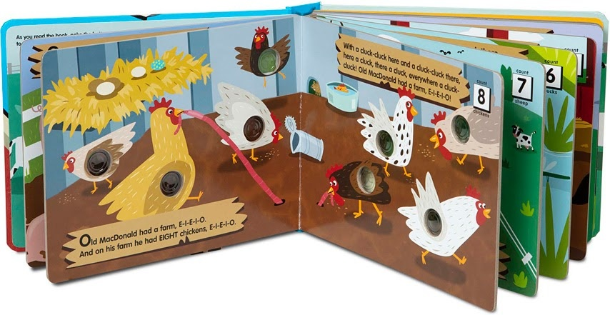 Poke-A-Dot Old MacDonald Board Book-3