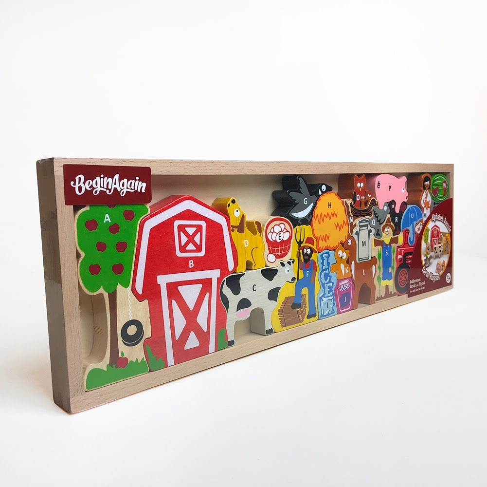 The Farm A to Z Wooden Puzzle-3