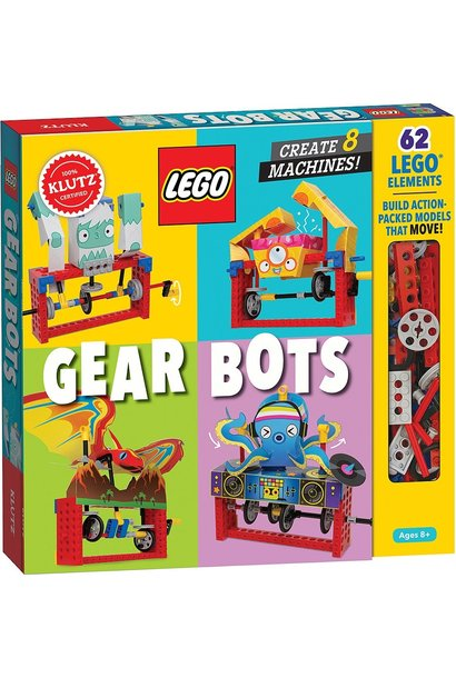 Lego Gear Bots by Klutz