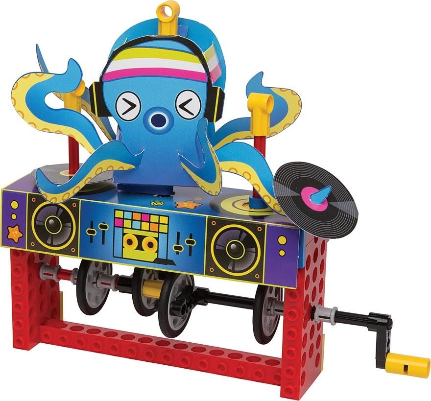 Lego Gear Bots by Klutz-4