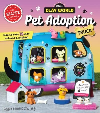 Mini Clay World Pet Adoption Truck by Klutz-1