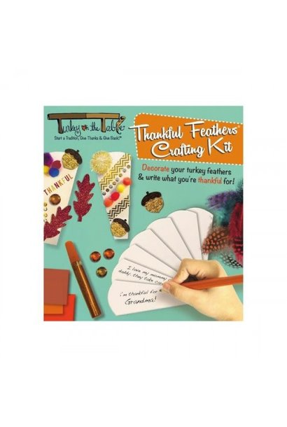 Thankful Feather Crafting Kit
