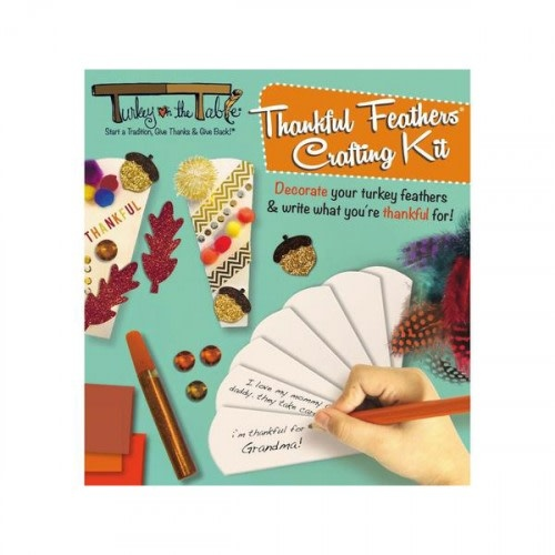 Thankful Feather Crafting Kit-1