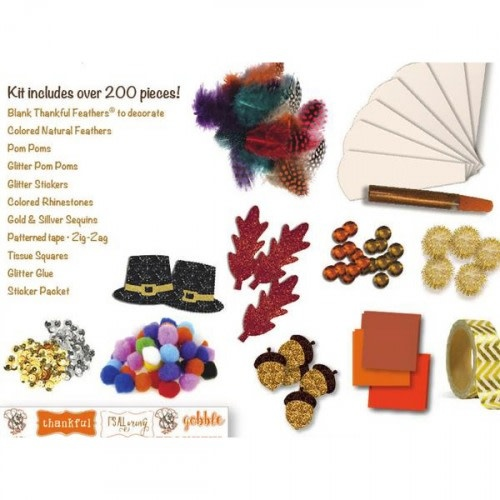 Thankful Feather Crafting Kit-2