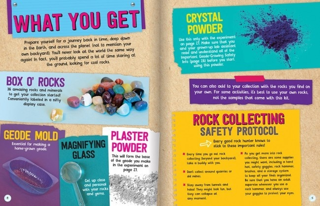 Rocks, Gems, & Geodes by Klutz-3