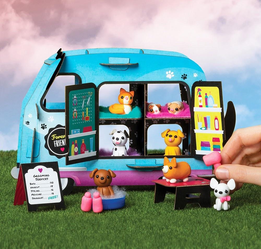 Mini Clay World Pet Adoption Truck by Klutz-2