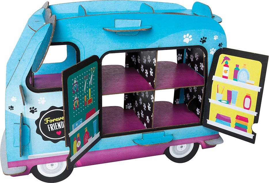 Mini Clay World Pet Adoption Truck by Klutz-4