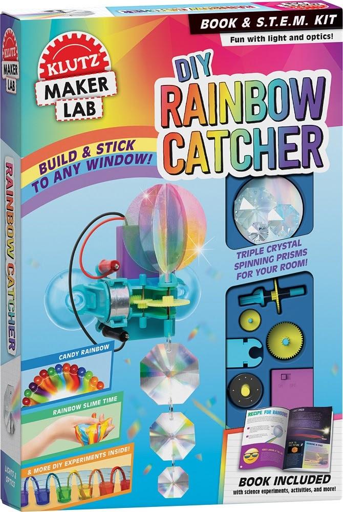 Klutz Maker Lab:  DIY Rainbow Catcher-1