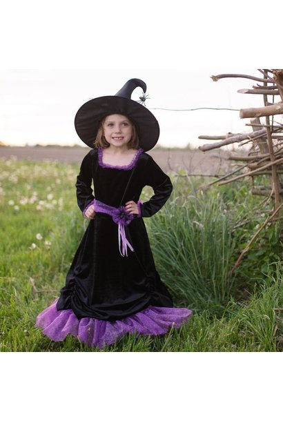 Vera the Velvet Witch Dress & Hat