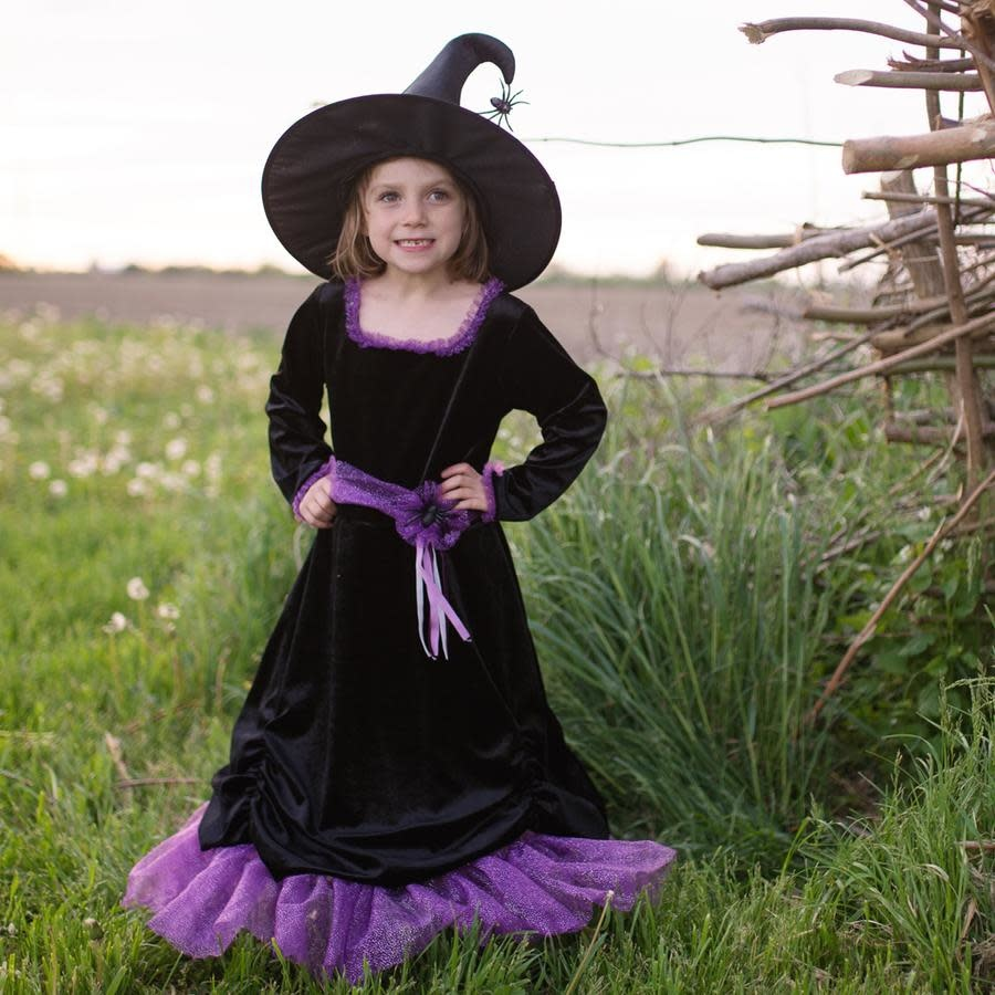 Vera the Velvet Witch Dress & Hat-1