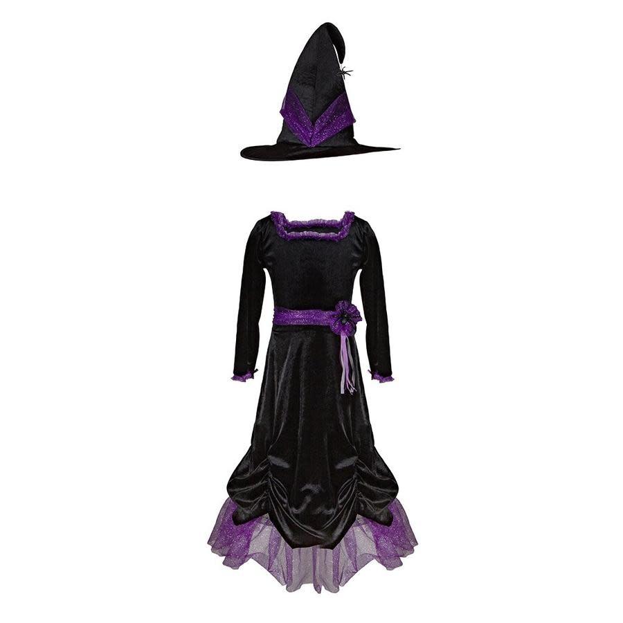 Vera the Velvet Witch Dress & Hat-2