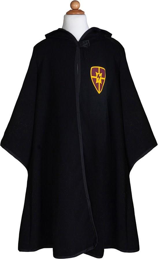 Wizard Cloak & Glasses  Size 7-8-5
