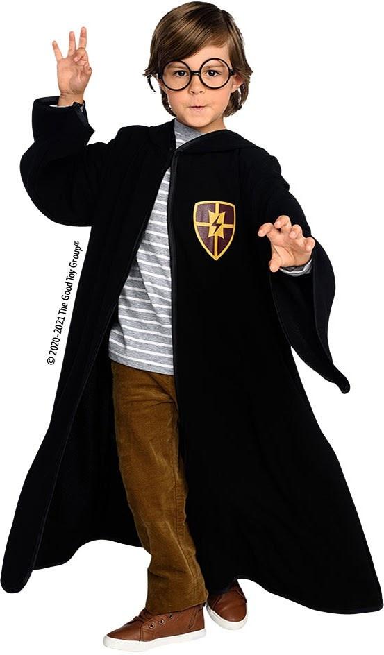Wizard Cloak & Glasses  Size 5-6-3