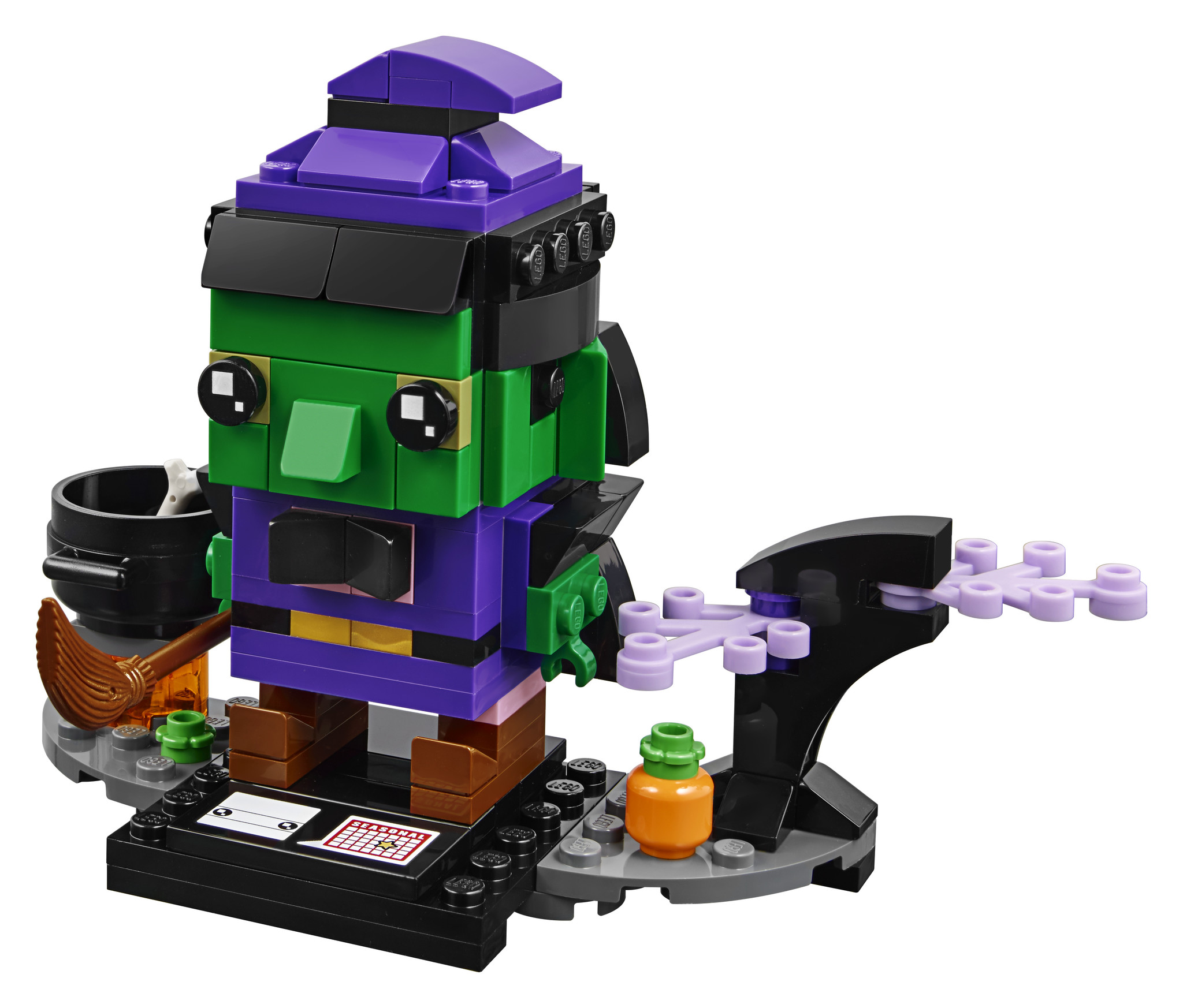 Lego/BrickHeadz Halloween Witch-2