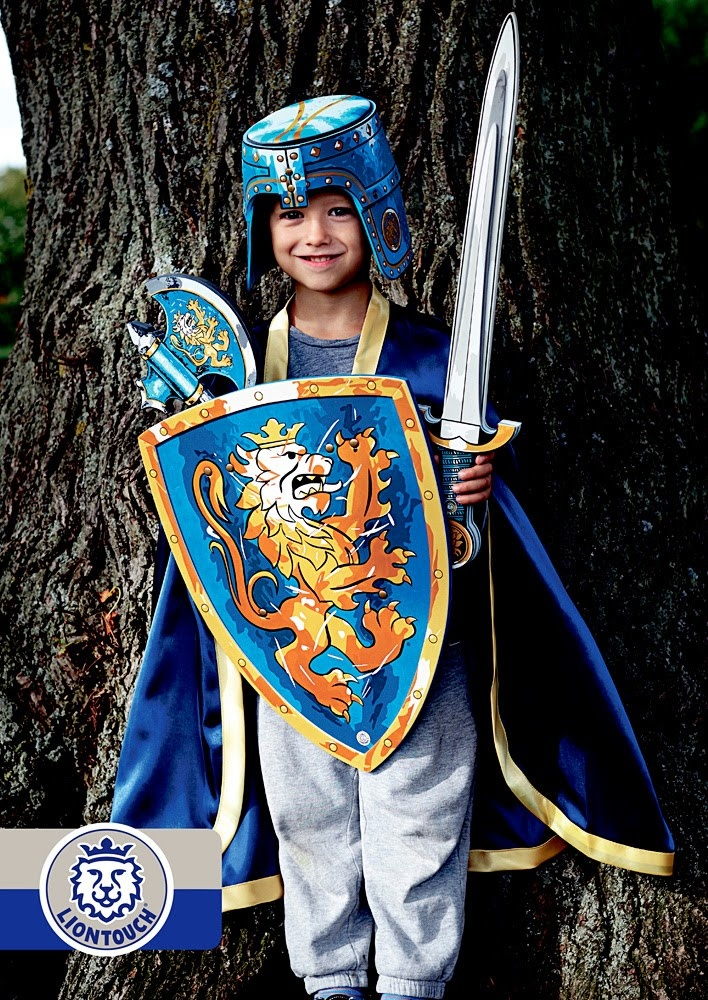 Liontouch Noble Knight Sword - Blue-2