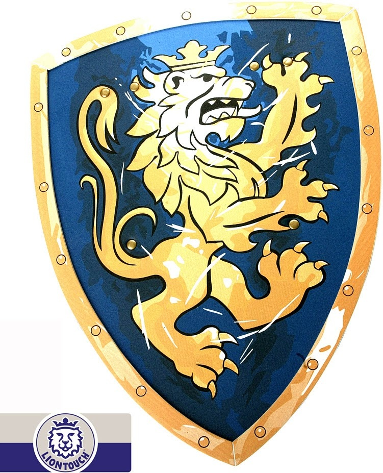 Liontouch Noble Knight Shield - Blue-2