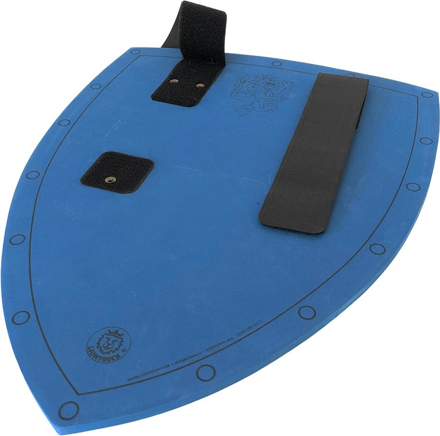 Liontouch Noble Knight Shield - Blue-4