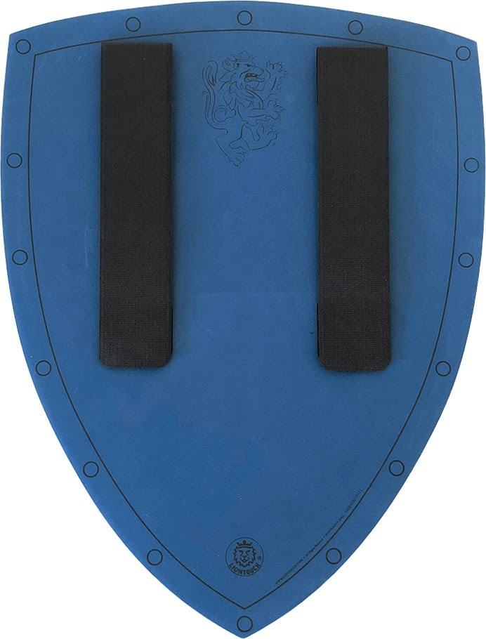 Liontouch Noble Knight Shield - Blue-5