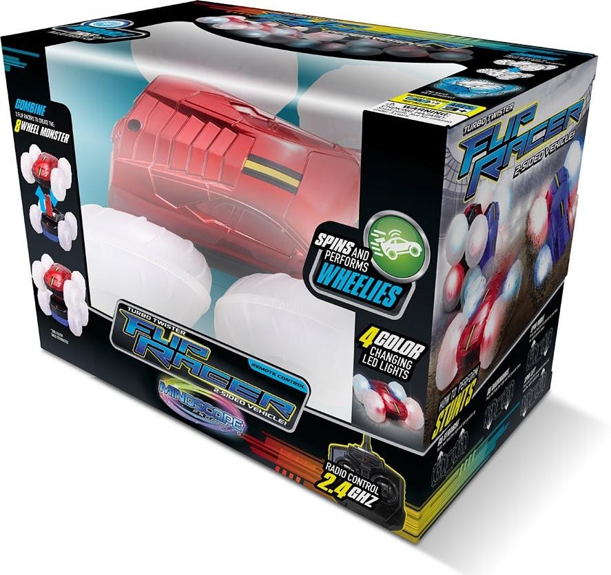 Turbo Twister Flip Racer - Red-1