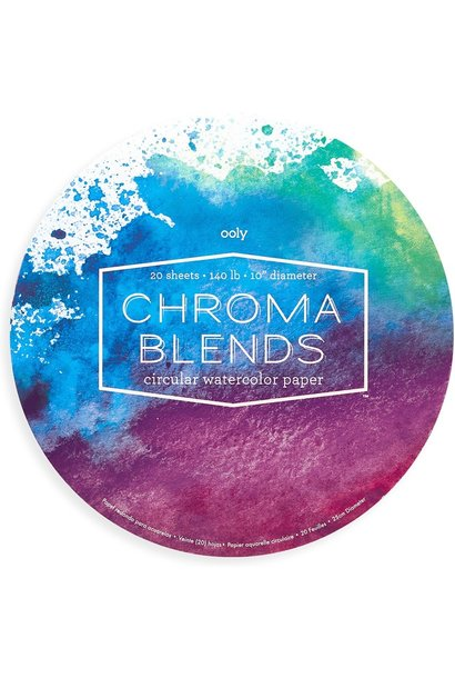 Chroma Blends Cicular Paper Pad